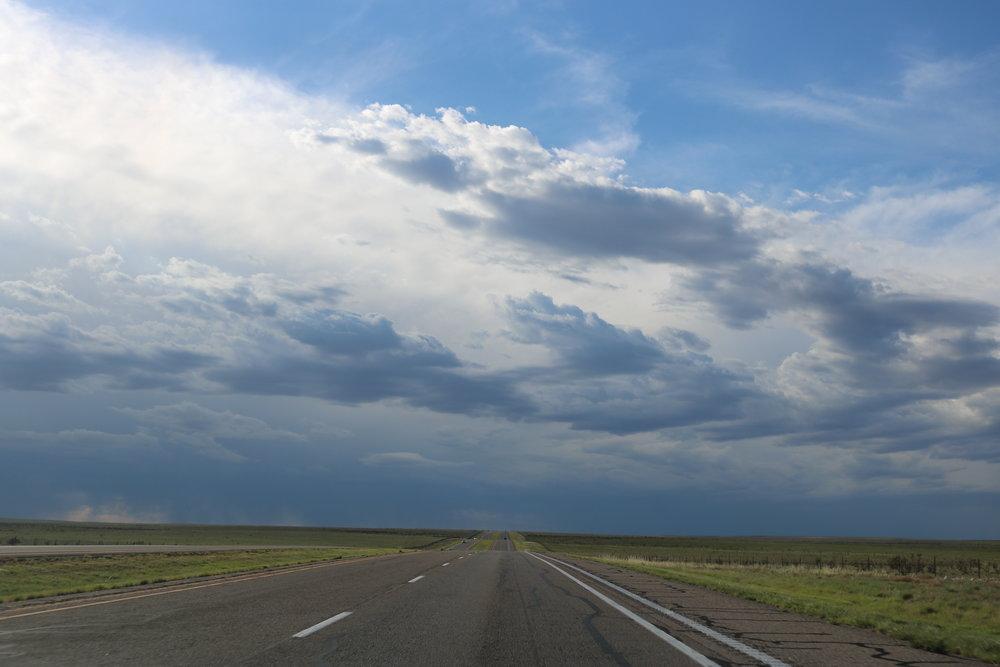 Random Highway somewhere in Texas 2017 - Heidi Reinprecht