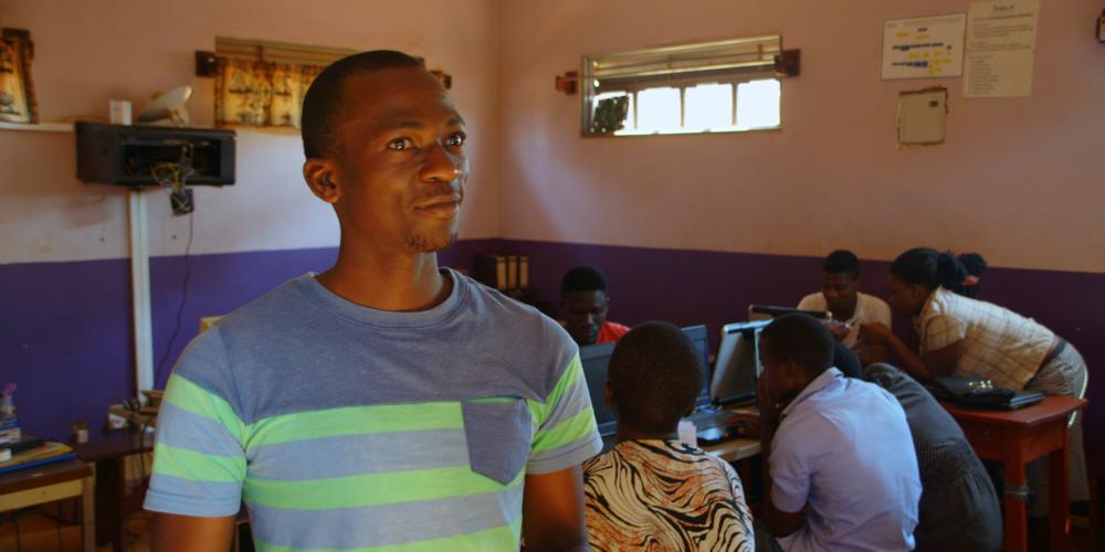 """Arthur Nsubuga From """"Center Of Hope"""""""