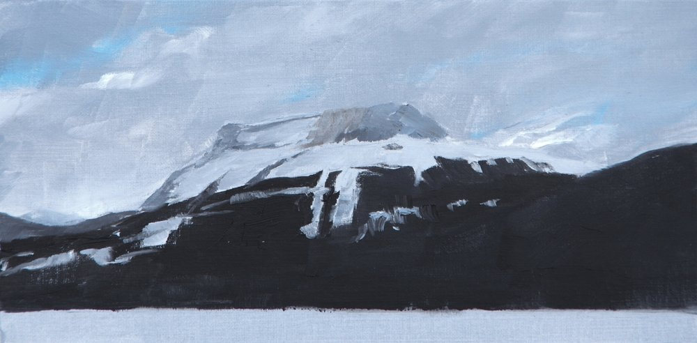 Study for Dark Mountain