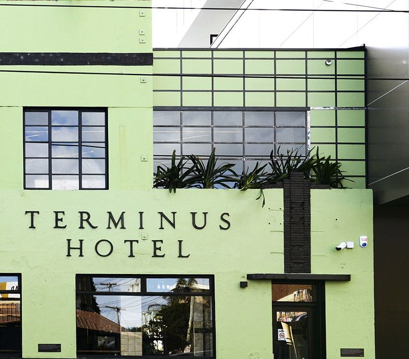 The Terminus – This pistachio pub is unmissable at the West end of Victoria Street.