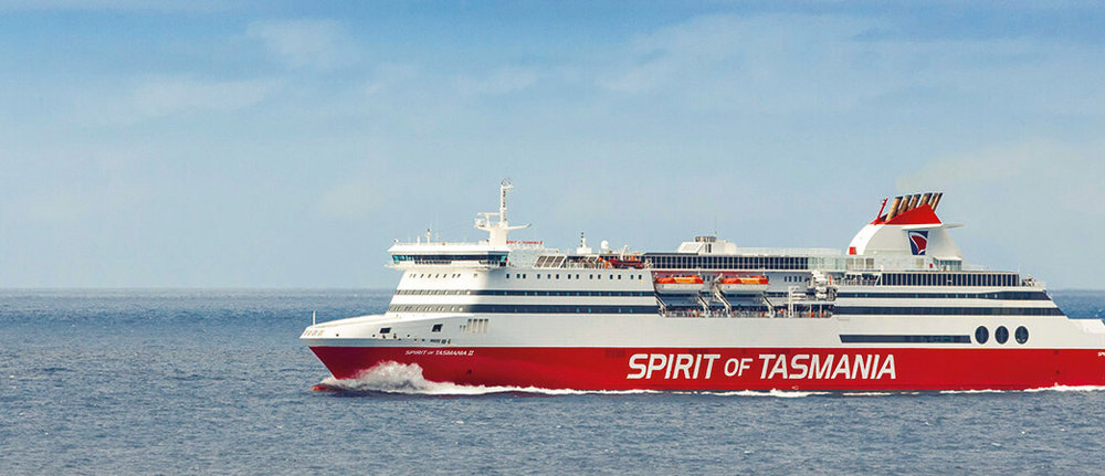 The Spirit of Tasmania - Affectionately referred to as  the boat  by Taswegians  (image from SOT website)