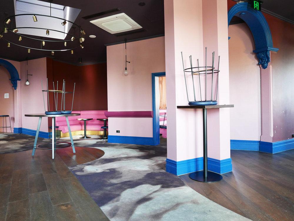 The upstairs  Dalton Lounge .