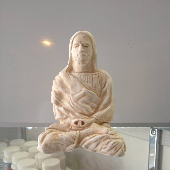 Meditating Jesus Christ
