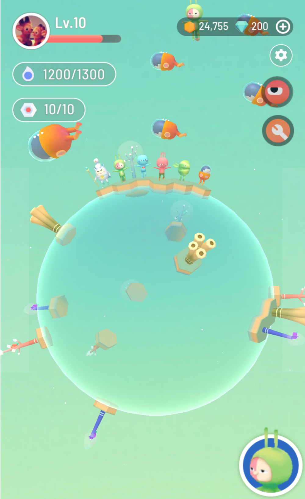 BUILD YOUR OWN SPACE - On this platform, we make sure customization is the top priority, that users operate their space with a lot of personalization. In this spaces, resources area generated to attract interactions between other users and other unique characters on this platform.
