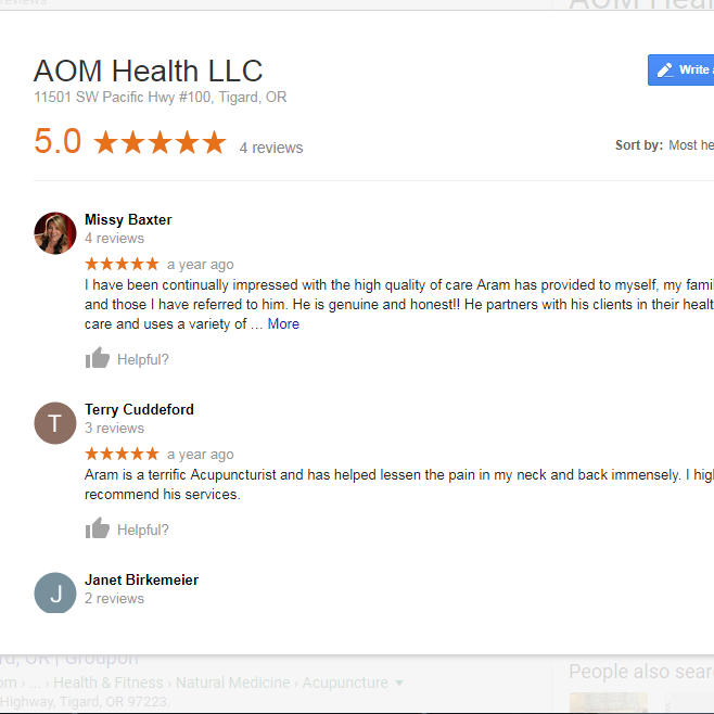 Google Reviews -