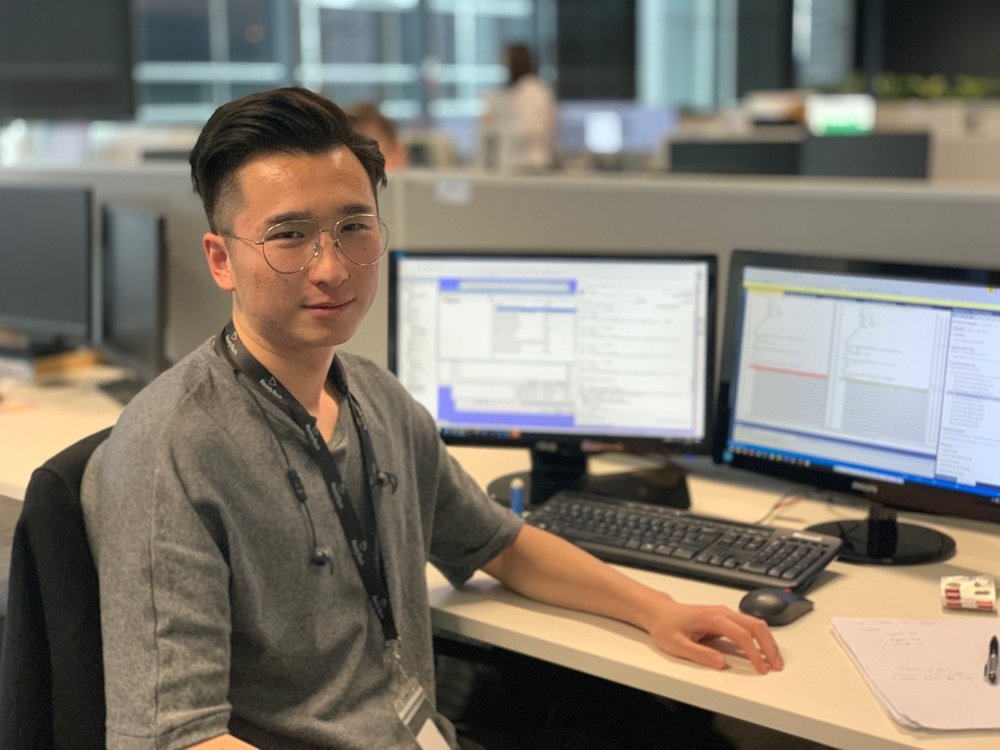 Junior Software Developer Dongyang Chen