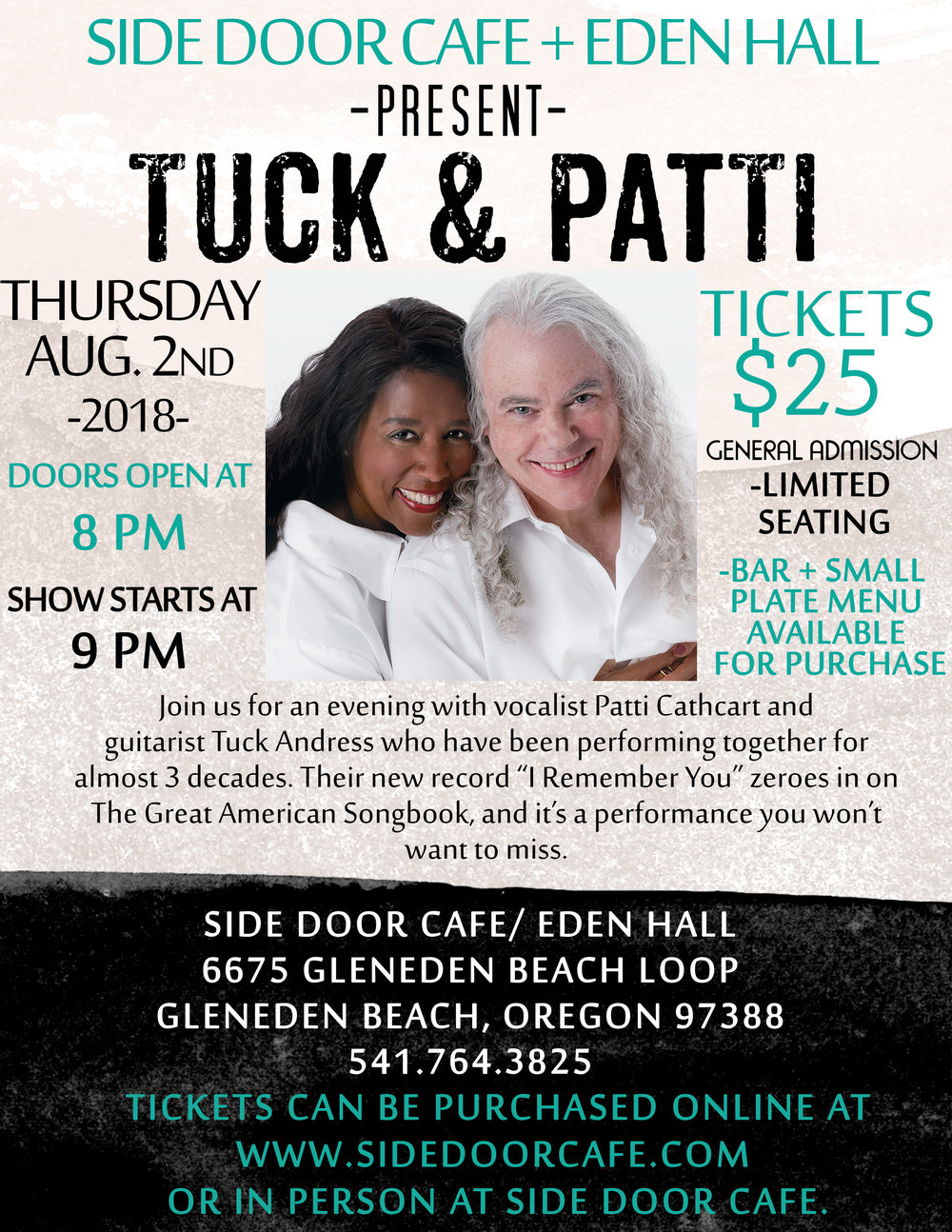 Tuck and Patti Side Door Cafe