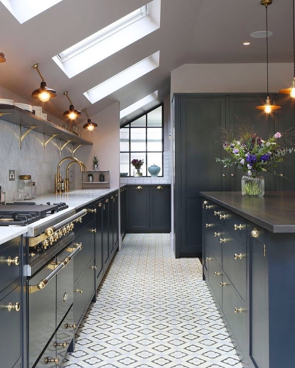 Tiled Kitchen Floor: Yay or Nay? — Ariel Noelle Interiors