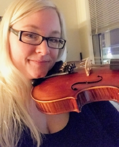 I'm constantly learning something new. I began violin lessons in March of 2017.