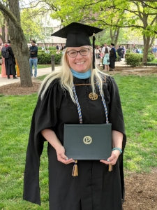 May 11, 2018: Graduation from Purdue University with an M.S.Ed in Learning Design & Technology.