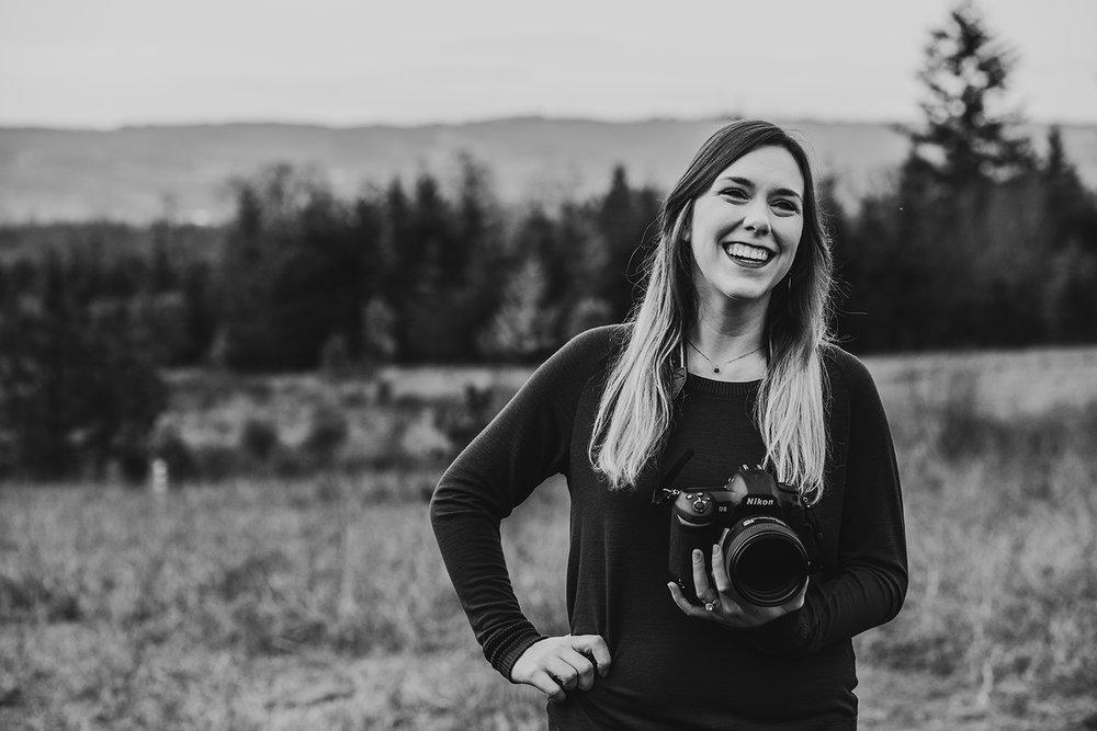 The Photographer - My full name is Nadia Joyce Padzensky. Nice to meet you!