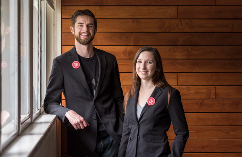Sean Woulfe & Kiaya Sabolovic   Co-Founders