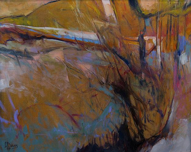 "February Ravine    Oil on canvas  16"" x 20""  Price: $900"