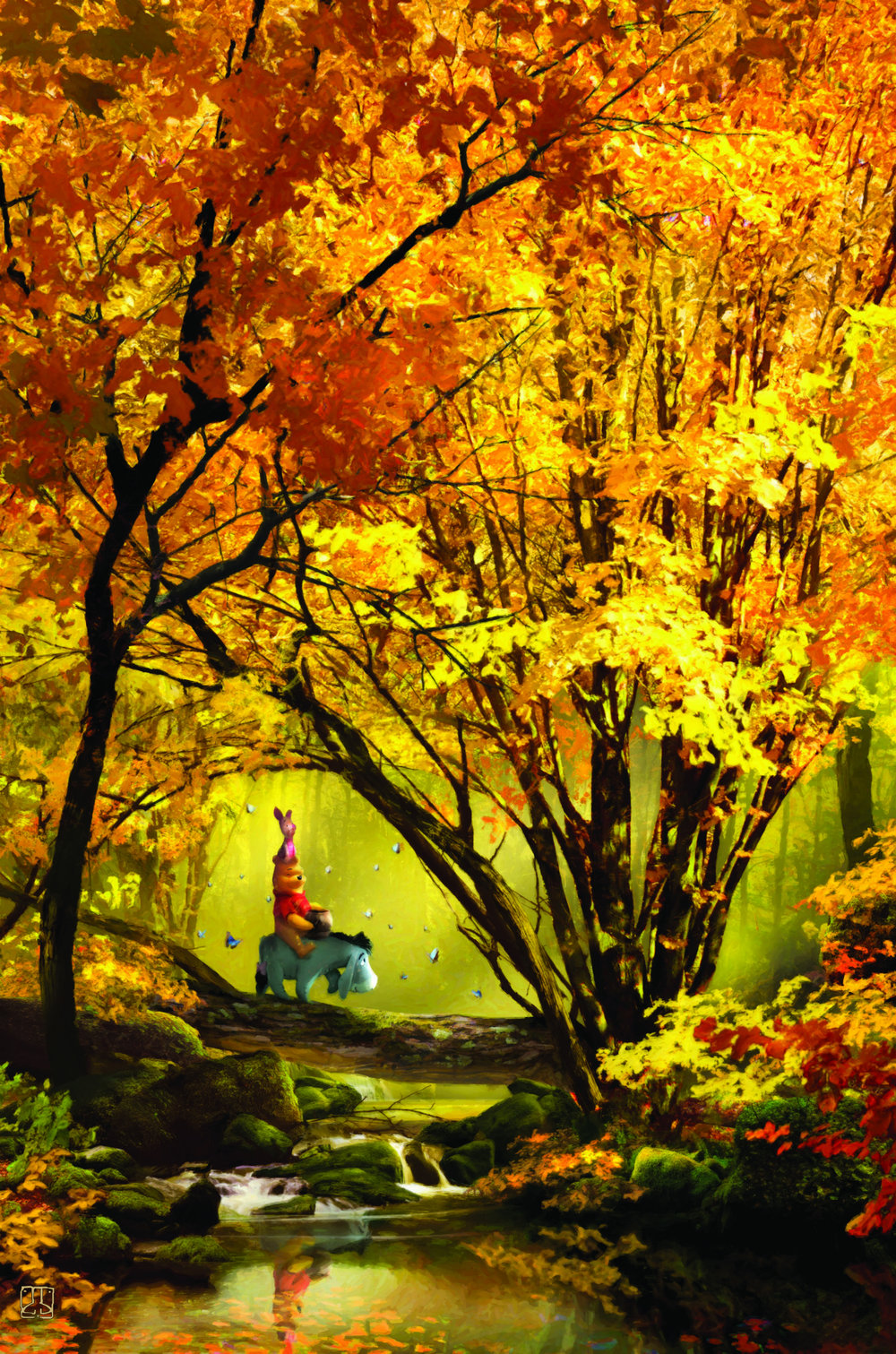 A Ride in the Golden Forest -