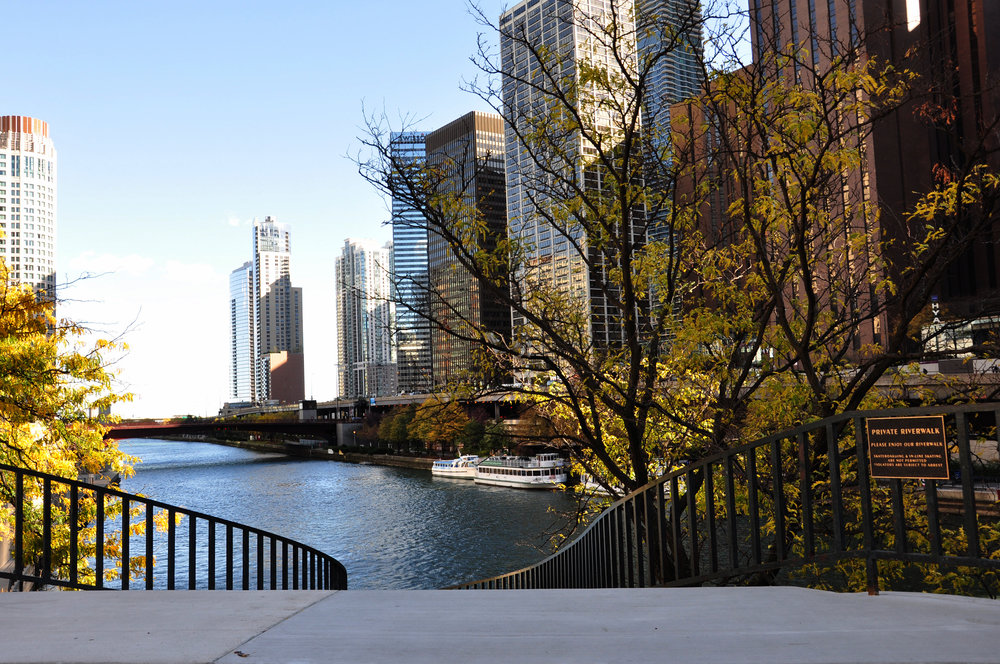 custom renovation, commercial historic restoration, concrete stairs, concrete repairs, Chicago Riverwalk River, water taxi, waterways, riverfront