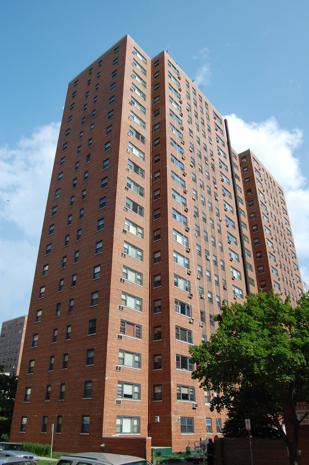 brick highrise building, ordinance-required exterior facade inspection, repair documents, exterior repair restoration, construction observation administrative services