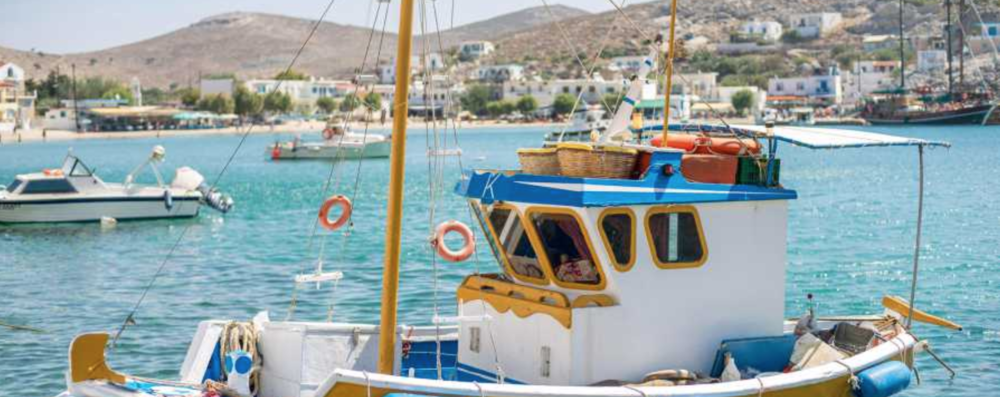 """Monocle - 28.9.17   The typically short-mast, colourful fishing boats known as """"kaikia""""..."""
