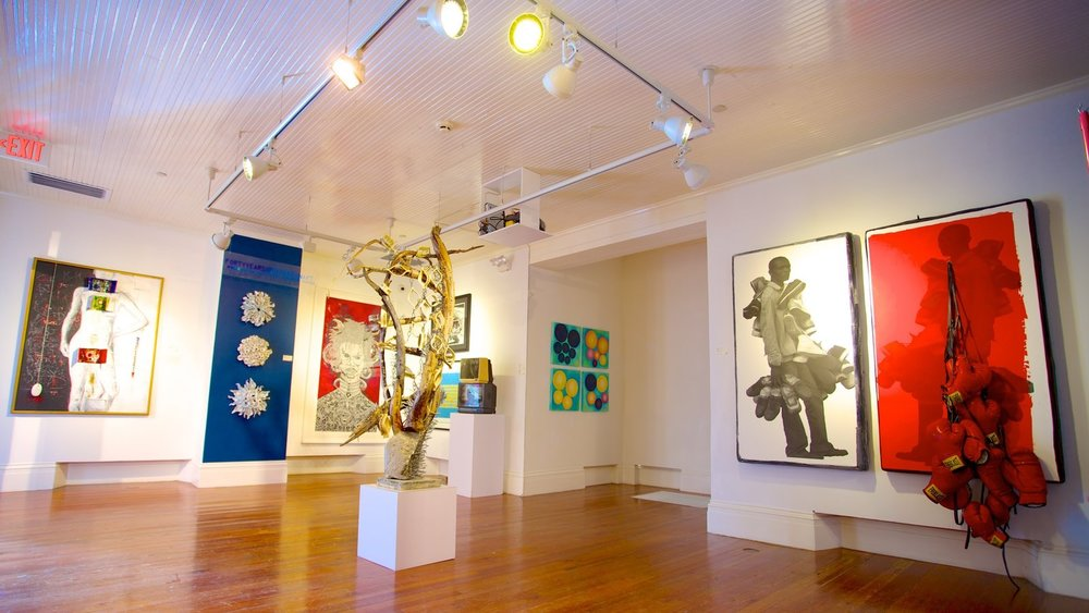 Past Exhibition at the National Art Gallery of The Bahamas.