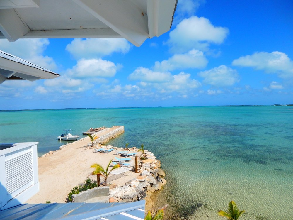 suite view overlooking the shores of s.t.a.r. island bahamas.