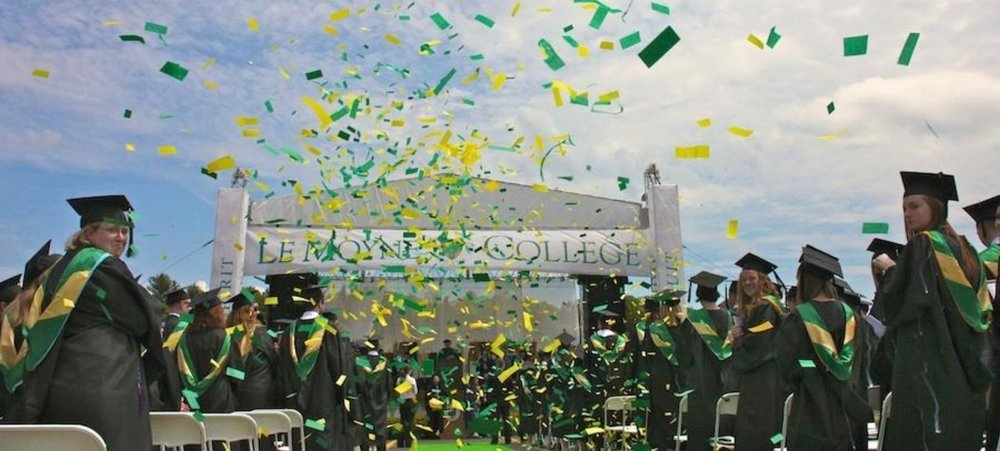 HATS OFF TO ALL 2018 GRADUATES! MAY THE FUTURE BRING YOU SUCCESS, WEALTH AND ABUNDANT JOY!  Photo credit:  le moyne college