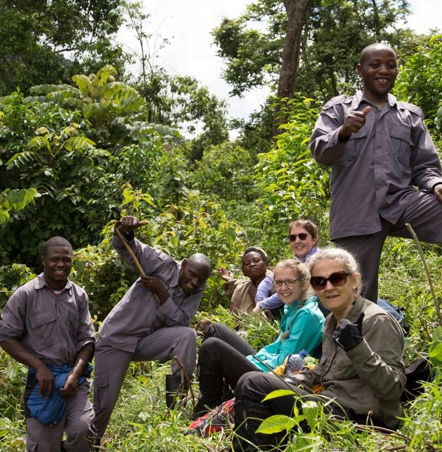 Mount Bisoke, Rwanda