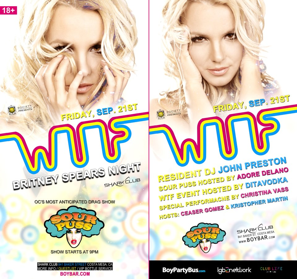 Web Ad WTF Fridays Britney Spears Party September 21st at Shark Club.png