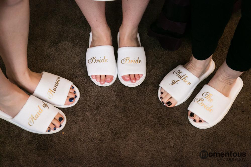 Wedding slippers!
