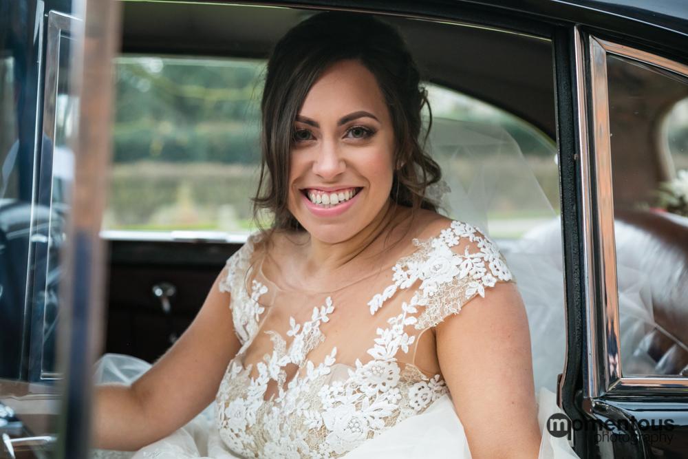 Wedding Car Bride