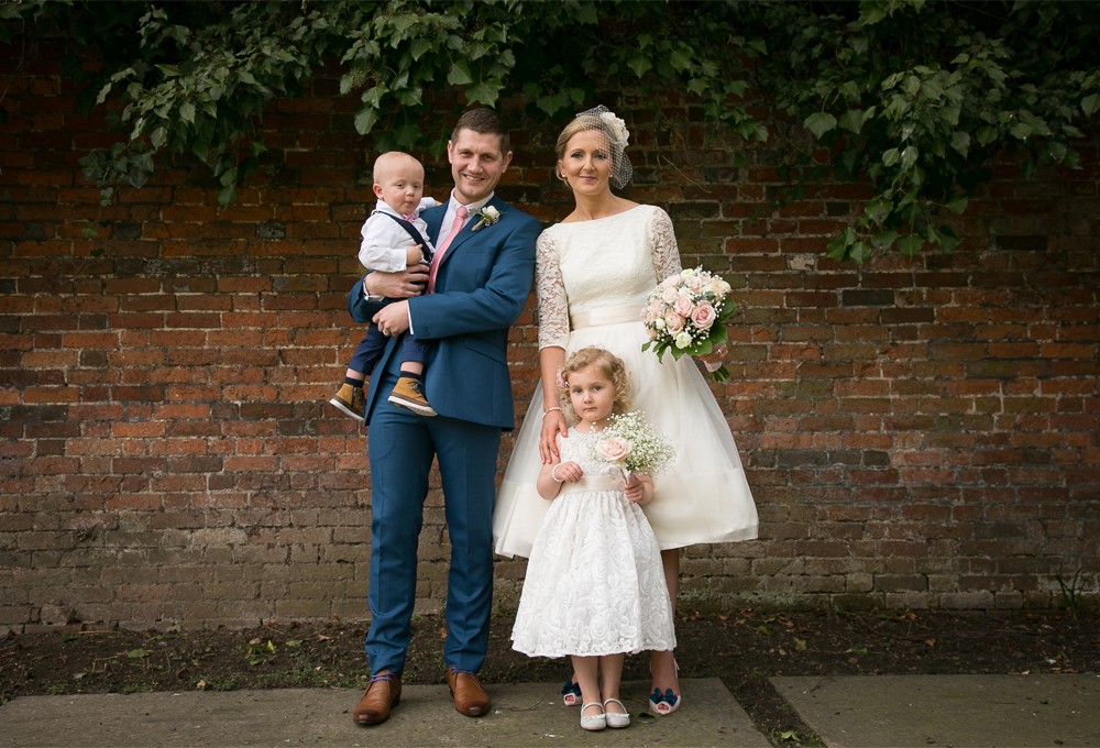 The perfect family wedding - Kings Chapel, Old Amersham