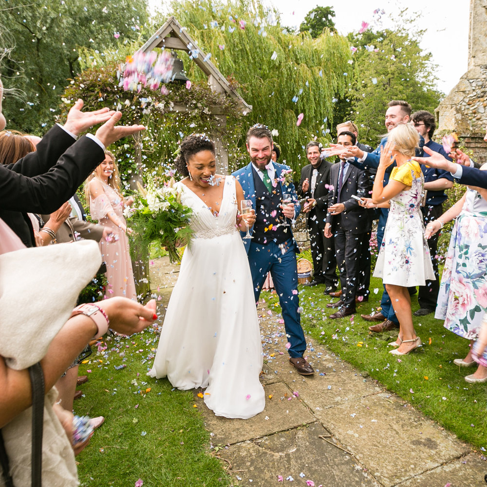SHARON & JAMES - Wedding at Butley Priory