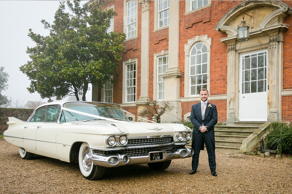 Hana & Matt's Winter Wedding at Chicheley Hall, Milton Keynes
