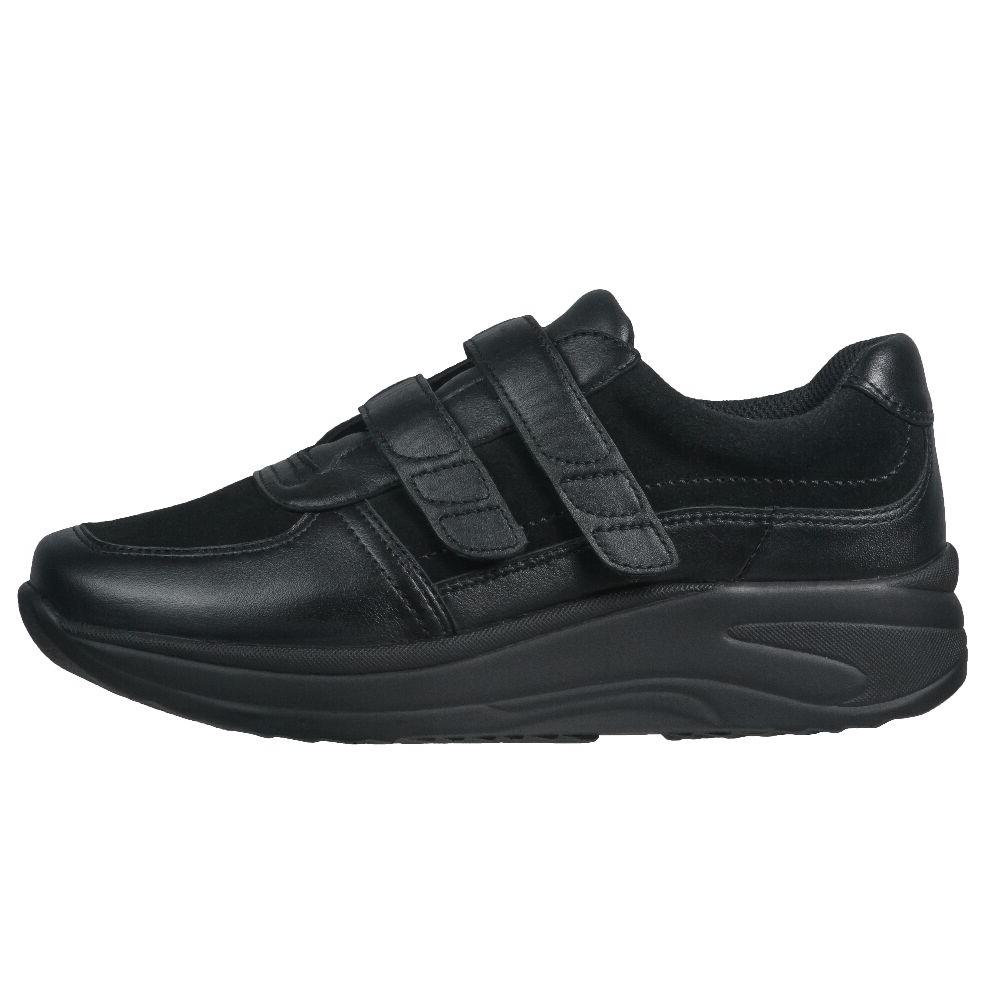"""Flex Fullgrain """"Suede Velcro"""" Black/Black"""