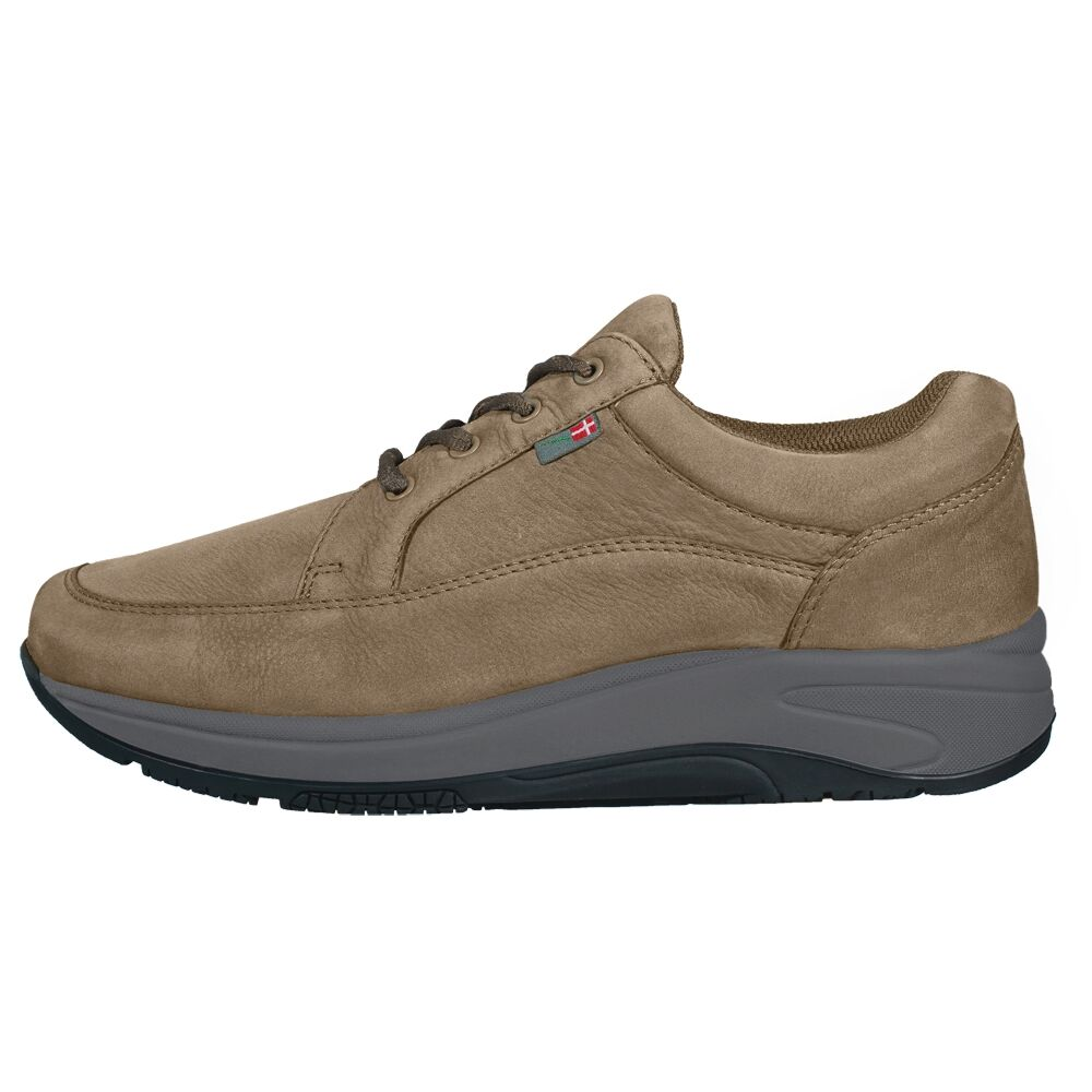 Mover Nubuck Beige/Grey-Black