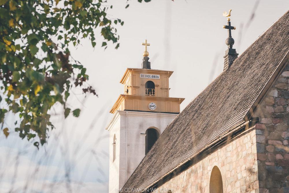 The Nederlulea church in Gammelstad Church town