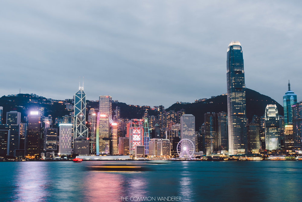Victoria Harbour, Hong Kong - best destinations to visit in 2018