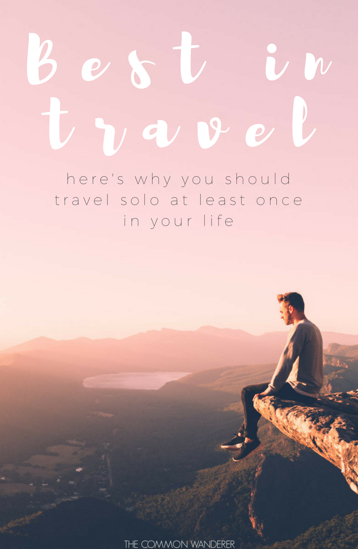 Why travel solo?
