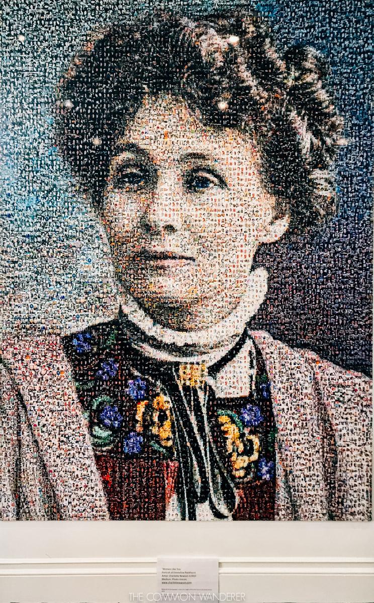 Spirit of Manchester - Emmeline Pankhurst