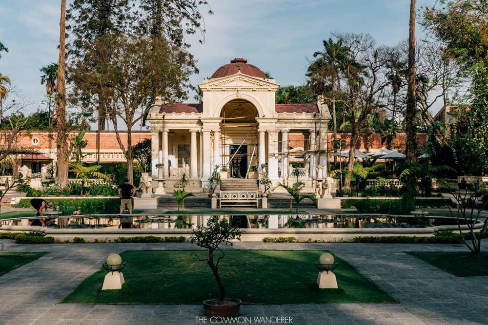 The garden of dreams an oasis in the heart of kathmandu the