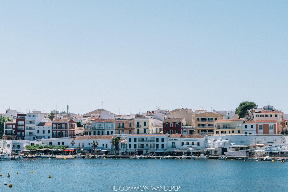 Es castell harbour, Mahon Minorca, Visit Menorca