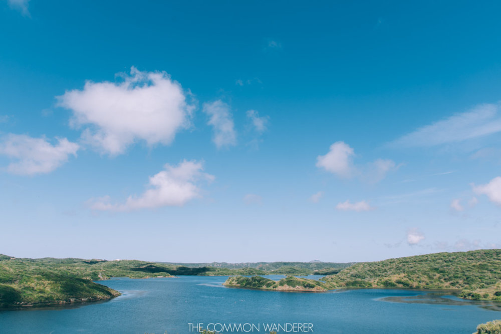 looking out over the reserves in Menorca, Spain (visit Menorca)