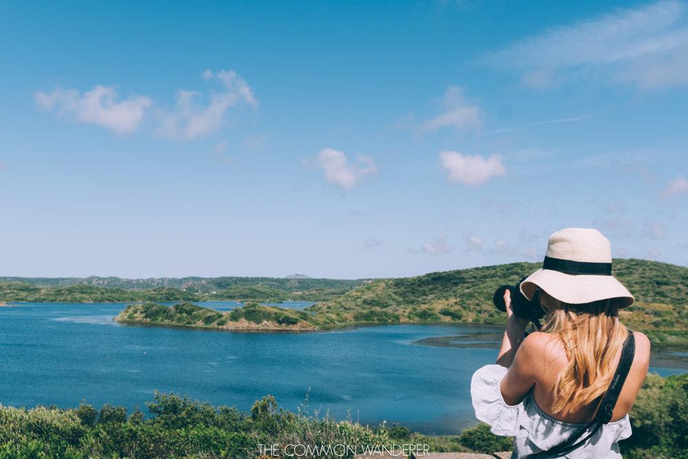Polkadot Passport photographing es grau national park menorca
