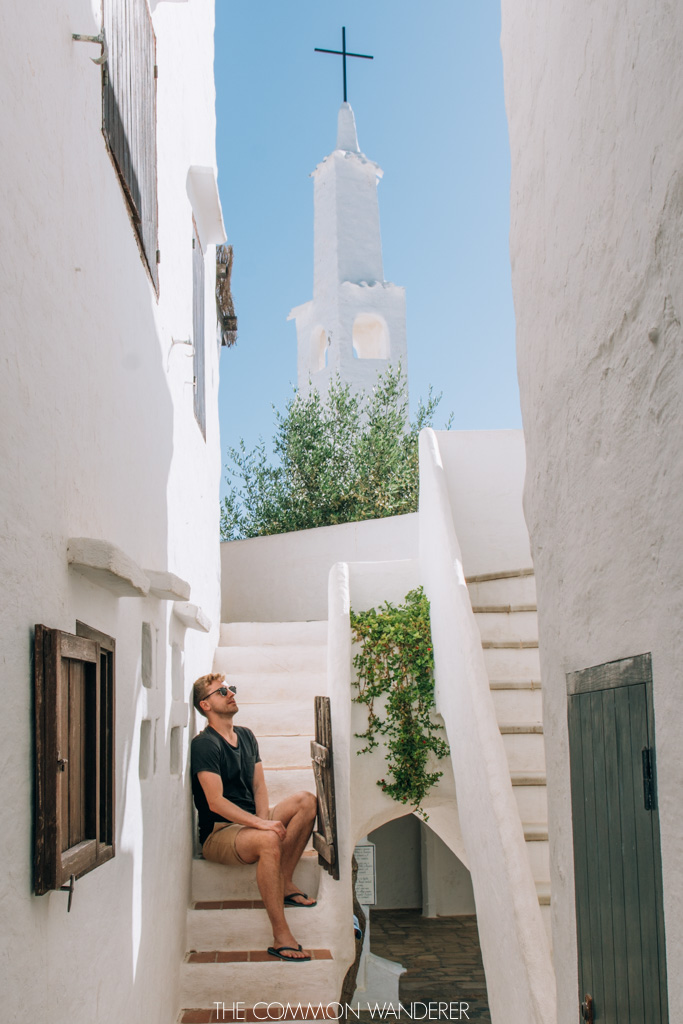 The white walls of Binibeca, Minorca