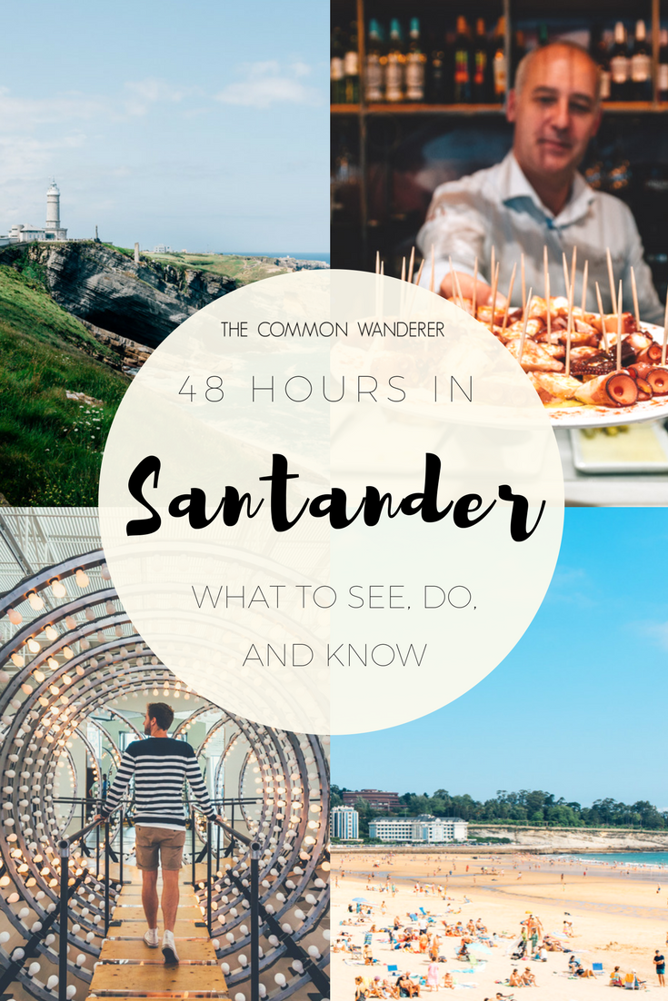 A Spanish city filled with amazing beaches, incredible food, and friendly locals. Visit Santander for a 48-hour getaway and you'll be pleasantly surprised.