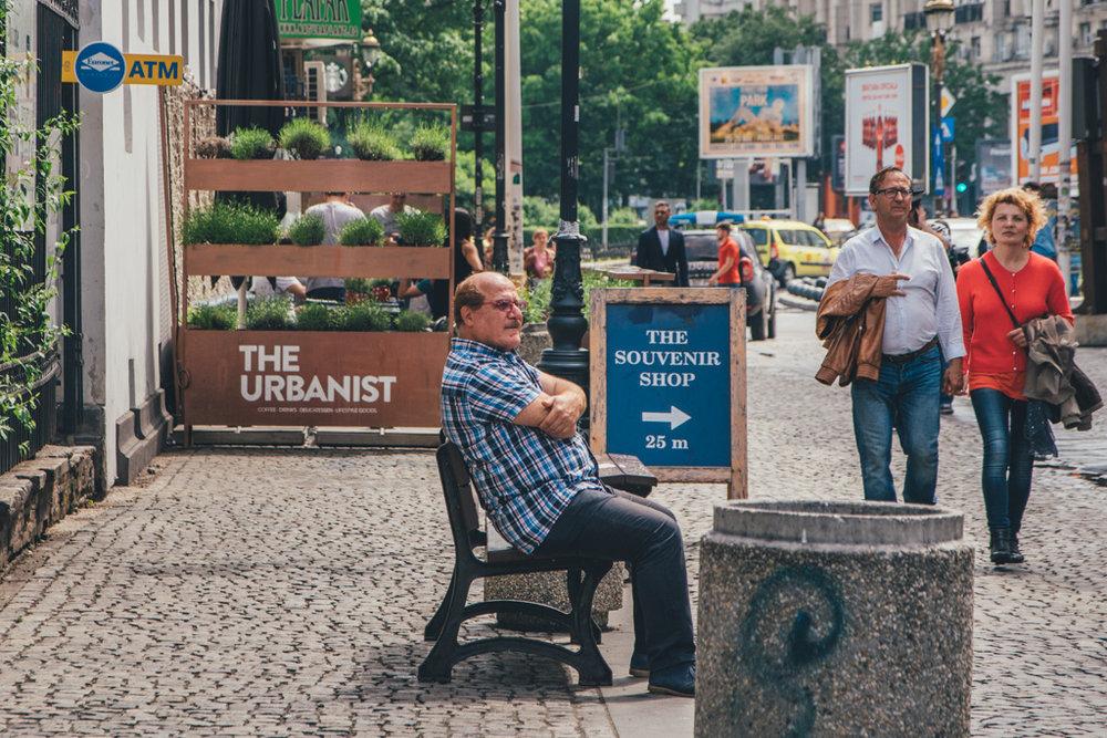 the Common Wanderer - Bucharest street scenes