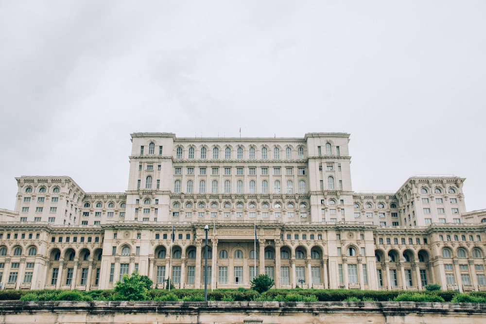 The Palace of the Parliament - an important symbol of communism in Bucharest and Romania