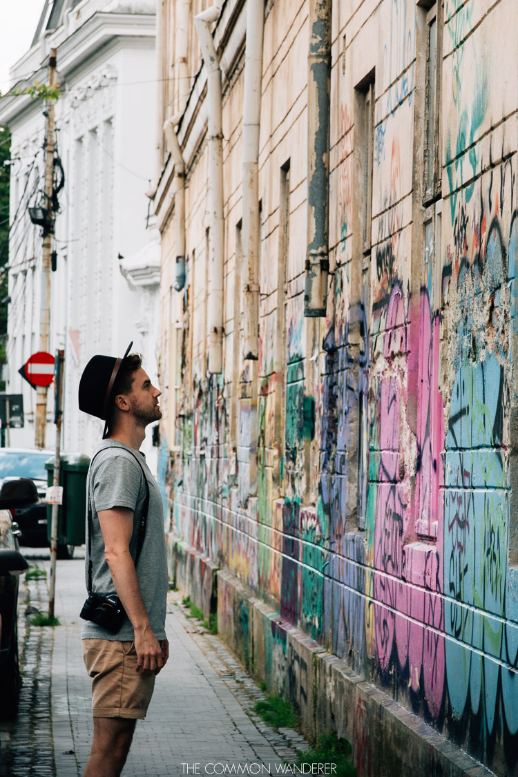 Bucharest's street art scene