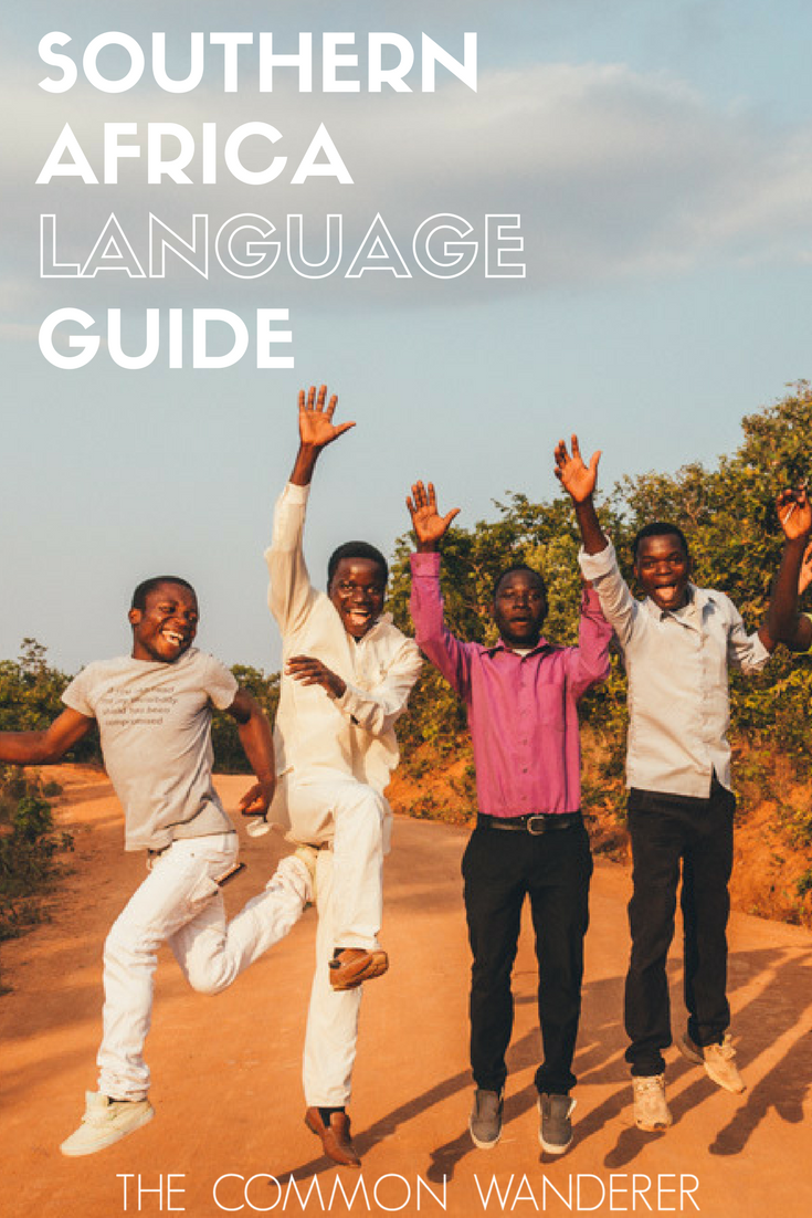 Southern Africa language guide