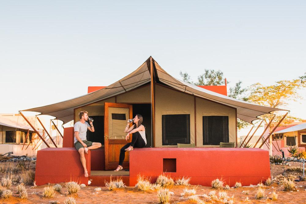 The Common Wanderer - Sossusvlei Lodge-Namibia