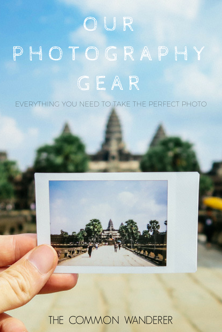 Photography gear to take the perfect travel photo