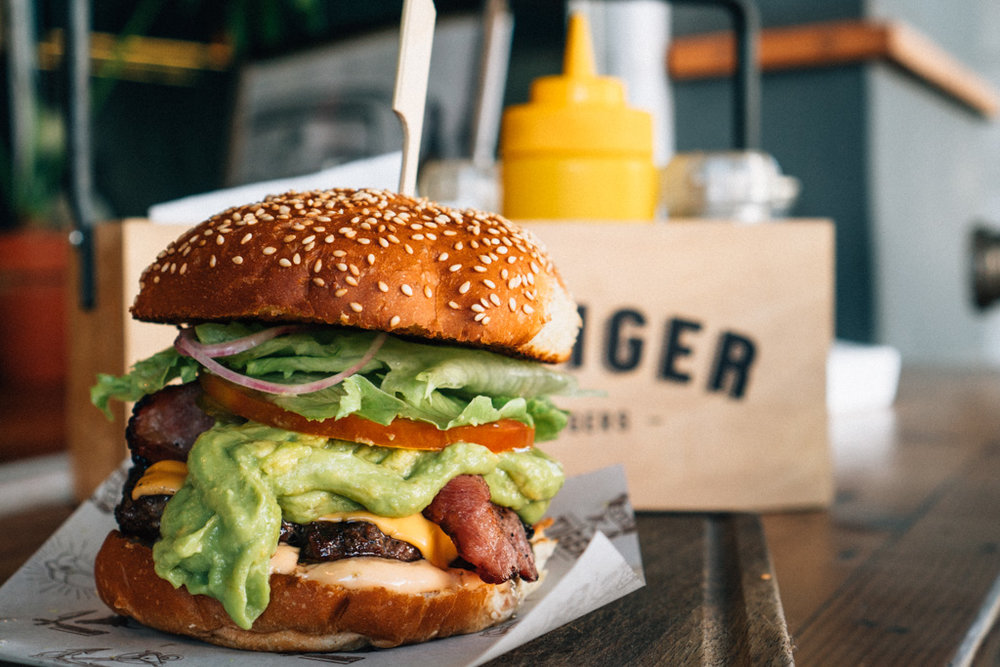 Easy Tiger burgers, Bree St, Cape Town